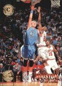 Serge Zwikker 1997 Press Pass Double Threat #28 Basketball Card