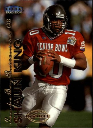 Shaun King 1999 Fleer Tradition Rookie Card #284