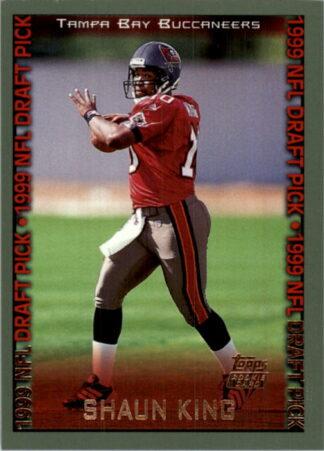 Shaun King 1999 Topps NFL Draft Pick #350 Rookie Card