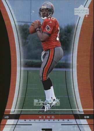 Shaun King 1999 Upper Deck Black Diamond Cut #118 Buccaneers Football Card