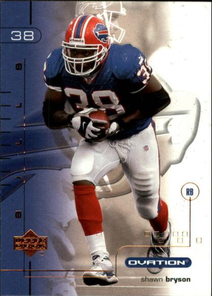 Shawn Bryson 2001 Upper Deck Ovation #10 Football Card