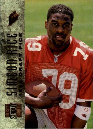 Simeon Rice 1996 Stadium Club Rookie #140 Football Card