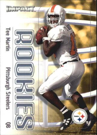 Tee Martin 2000 Fleer Impact Rookie #149 Football Card