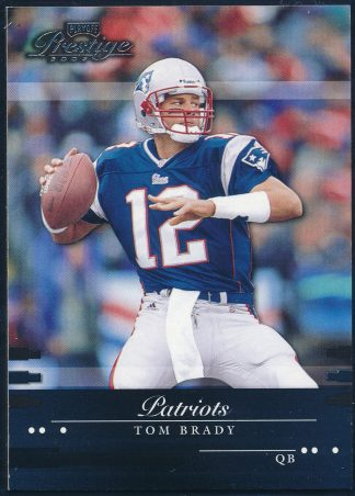 Tom Brady 2002 Playoff Prestige #85 Football Card