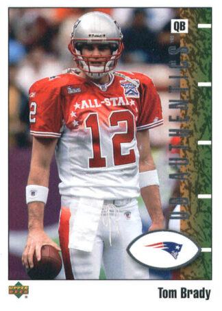 Tom Brady 2002 UD Authentics #52 Football Card