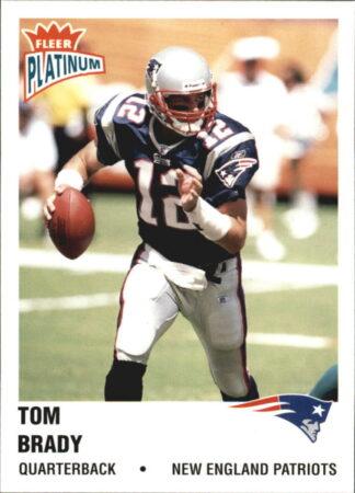 Tom Brady 2003 Fleer Platinum #138 Football Card