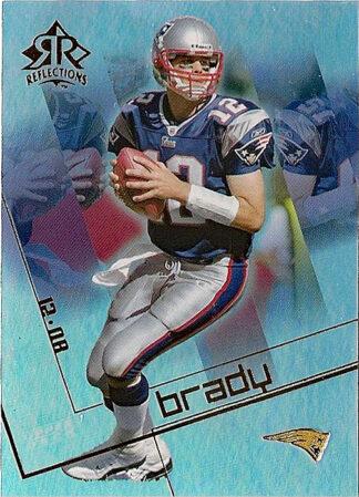 Tom Brady 2004 Reflections #58 Football Card