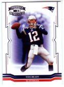 Tom Brady 2005 Donruss Throwback Threads #88 Football Card