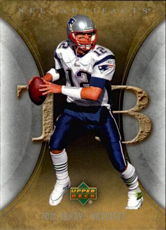 Tom Brady 2007 Artifacts #60 Football Card