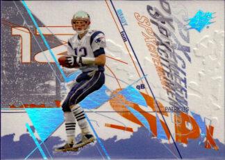 Tom Brady 2003 SPXcitement #102 Football Card