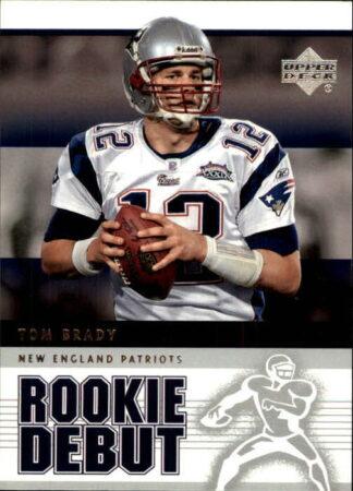 Tom Brady 2005 Upper Deck Rookie Debut #57 Football Card