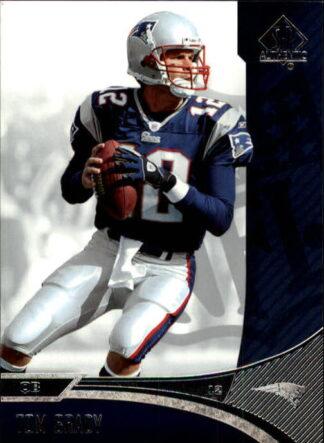 Tom Brady 2006 SP Authentic #51 Football Card