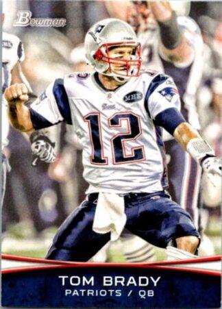 Tom Brady 2012 Bowman #50 Football Card