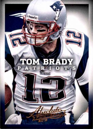 Tom Brady 2013 Panini Absolute Football #58