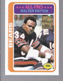 Walter Payton 2001 Topps COMMEMORATIVE COLLECTION Reprint #200
