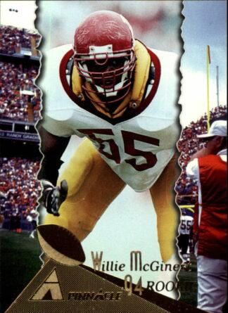 Willie McGinest 1994 Pinnacle Rookie #200 Football Card
