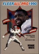 Reggie White 1990 FLEER ALL-PRO #16 Football Card