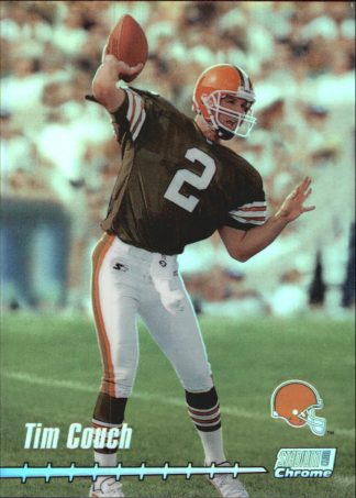 Tim Couch 1999 Stadium Club Chrome Previews #C20 Jumbo Football Card