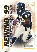 Kenny Bynum 2000 Fleer IMPACT REWIND 99 #25 Football Card