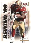 Charlie Garner 2000 Fleer IMPACT REWIND 99 #26 Football Card