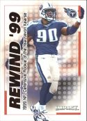 Jevon Kearse 2000 Fleer IMPACT REWIND 99 #34 Football Card