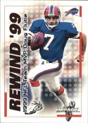 DOUG FLUTIE 2000 Fleer IMPACT REWIND 99 #4 Football Card