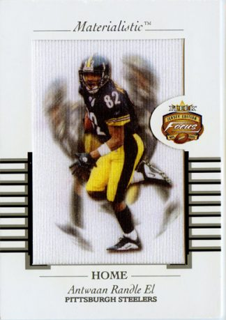 Antwaan Randle El 2002 Fleer Focus Jersey Edition Materialistic Jumbo Card #8