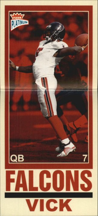 MICHAEL VICK 2003 FLEER PLATINUM BIG SIGNS #10 Football Card /100