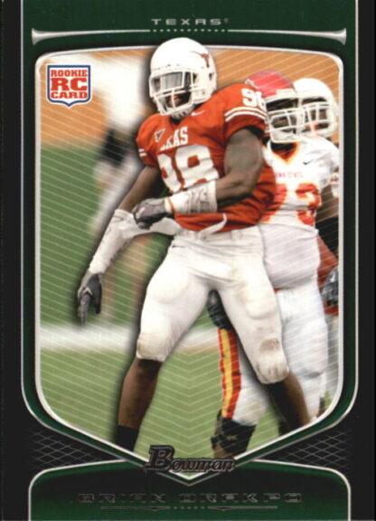 Brian Orakpo 2009 Bowman Draft #112 Rookie Football Card