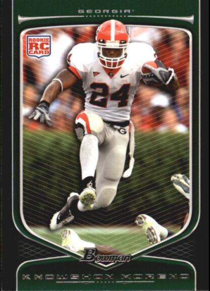 Knowshon Moreno 2009 Bowman Draft #116 Rookie Football Card