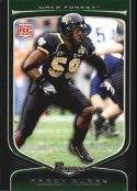 Aaron Curry 2009 Bowman Draft #117 Rookie Football Card