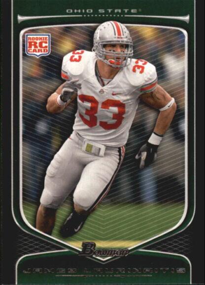 James Laurinaitis 2009 Bowman Draft #120 Rookie Football Card