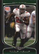 Chris Wells 2009 Bowman Draft #121 Rookie Football Card