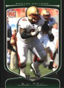 B.J. Raji 2009 Bowman Draft #128 Rookie Football Card