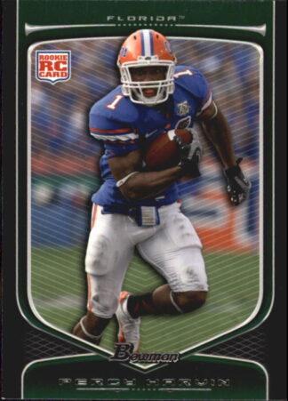 Percy Harvin 2009 Bowman Draft #147 Rookie Football Card