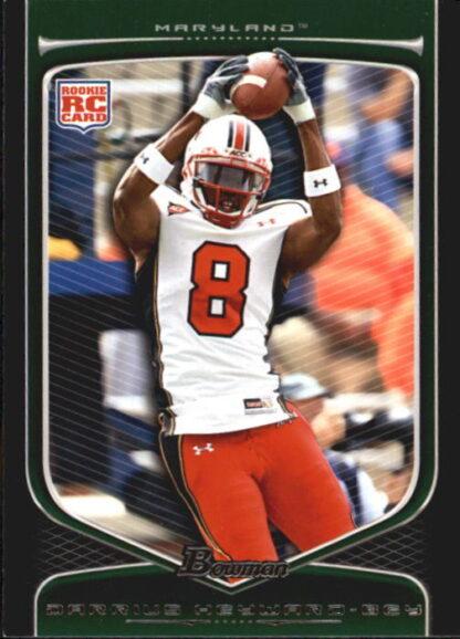 Darrius Heyward-Bey 2009 Bowman Draft #154 Rookie Football Card