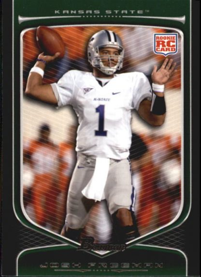 Josh Freeman 2009 Bowman Draft #162 Rookie Football Card