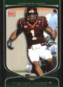 Victor Harris 2009 Bowman Draft #163 Rookie Football Card