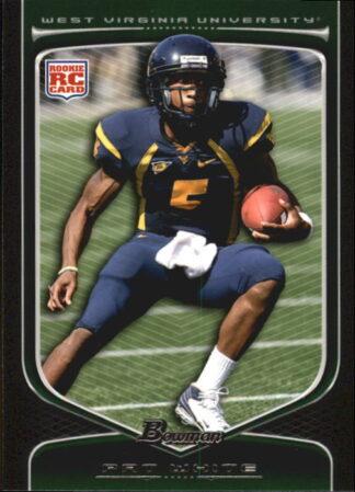 Pat White 2009 Bowman Draft #167 Rookie Football Card