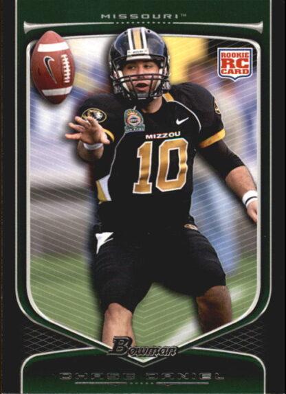 Chase Daniel 2009 Bowman Draft #168 Rookie Football Card