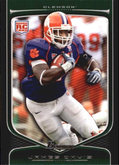 James Davis 2009 Bowman Draft #171 Rookie Football Card