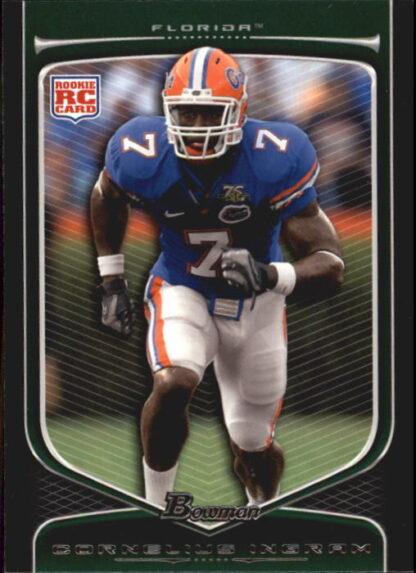 Cornelius Ingram 2009 Bowman Draft #189 Rookie Football Card