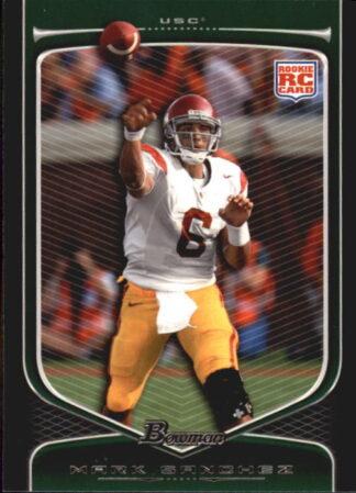 Mark Sanchez 2009 Bowman Draft #190 Rookie Football Card