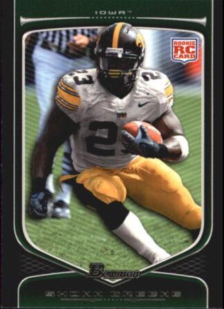 Shonn Greene 2009 Bowman Draft #205 Rookie Football Card