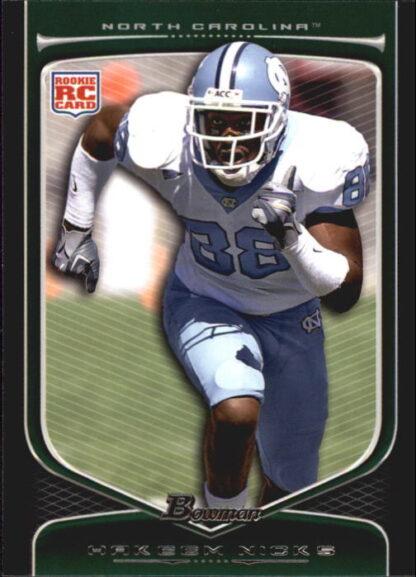 Hakeem Nicks 2009 Bowman Draft #210 Rookie Football Card