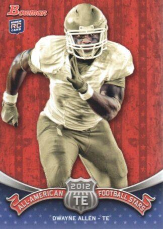 Dwayne Allen 2012 Bowman All American #BAA-DA Rookie Card