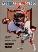 Anthony Munoz 1990 FLEER ALL-PRO #8 Football Card