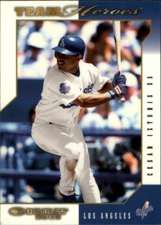 Cesar Izturis 2003 (DODGERS) Donruss Team Heroes Glossy #248 Baseball Card