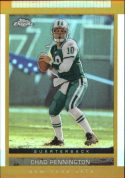 Chad Pennington 2003 Topps Chrome Gold Draft Picks & Prospects #62 Refractor