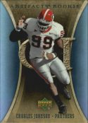 Charles Jihnson 2007 Artifacts Rookie #163 Football Card
